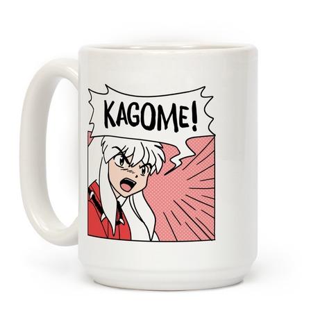 InuYasha Screaming Kagome (1 of 2 pair) Coffee Mug