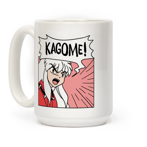 InuYasha Screaming Kagome (1 of 2 pair) Coffee Mug