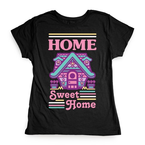 Home Sweet Home Mermaid Series Exterior Womens T-Shirt