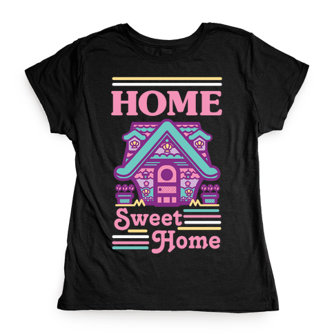 Home Sweet Home Mermaid Series Exterior Womens T-Shirt