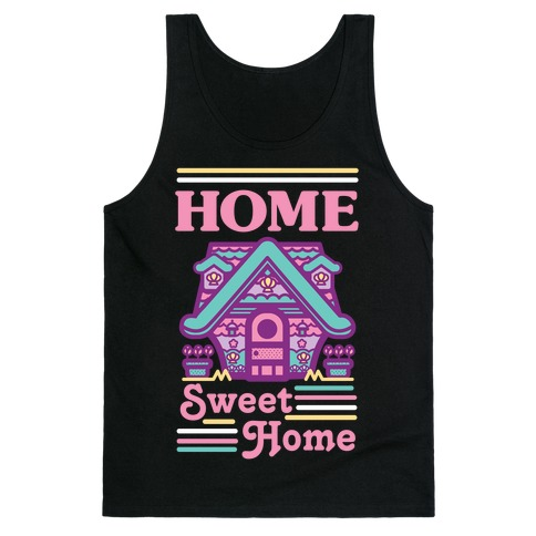 Home Sweet Home Mermaid Series Exterior Tank Top