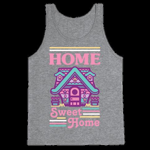 Home Sweet Home Mermaid Series Exterior Tank Top