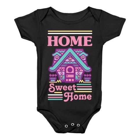 Home Sweet Home Mermaid Series Exterior Baby Onesy