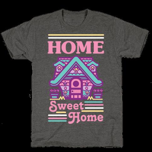 Home Sweet Home Mermaid Series Exterior Mens/Unisex T-Shirt
