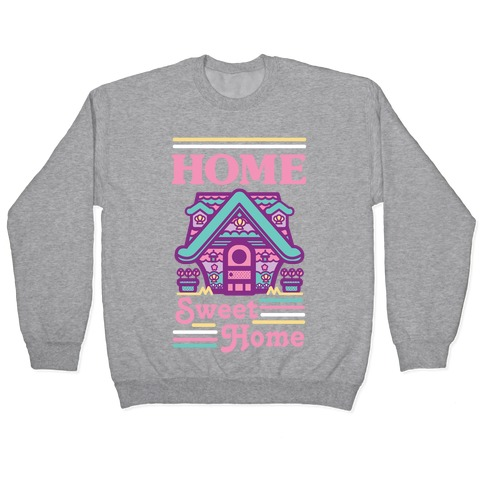 Home Sweet Home Mermaid Series Exterior Pullover