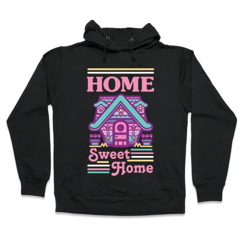 Home Sweet Home Mermaid Series Exterior Hooded Sweatshirt