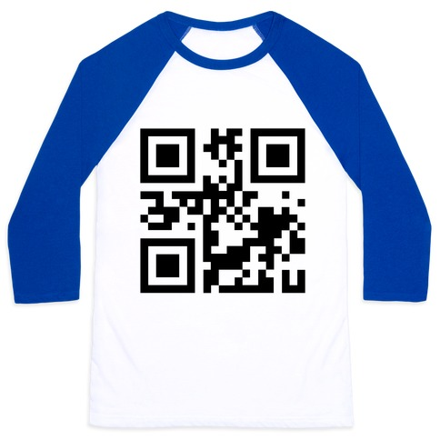 QR Code Secret Message for Suzi Baseball Tee | LookHUMAN