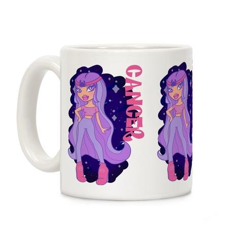 Zodiac Dollz: Cancer Coffee Mug