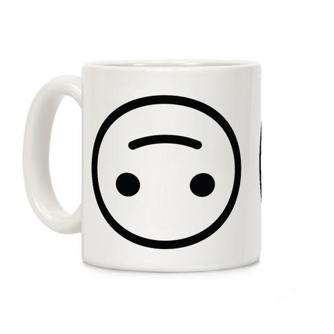 Upside-down Smiley Coffee Mug