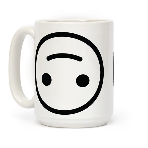 Upside-down Smiley Coffee Mug