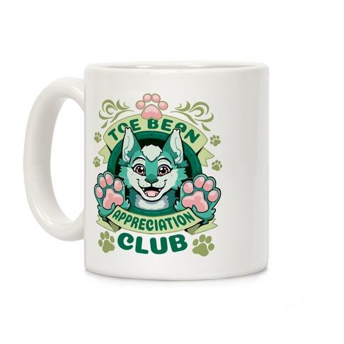 Toe Bean Appreciaton Club (Cat Ver.) Coffee Mug