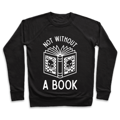 Not Without a Book Pullover