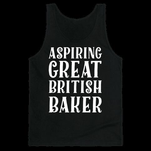 Aspiring Great British Baker Tank Top