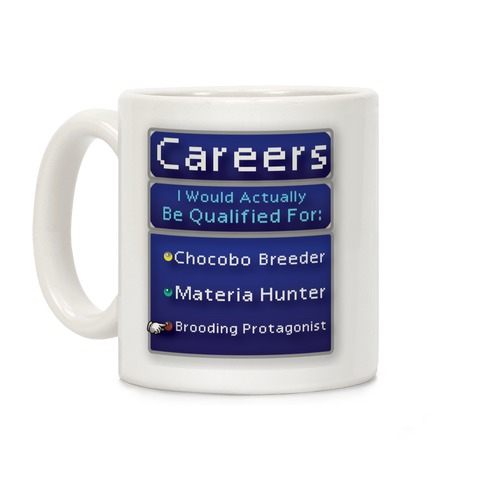 Final Fantasy Careers Coffee Mug