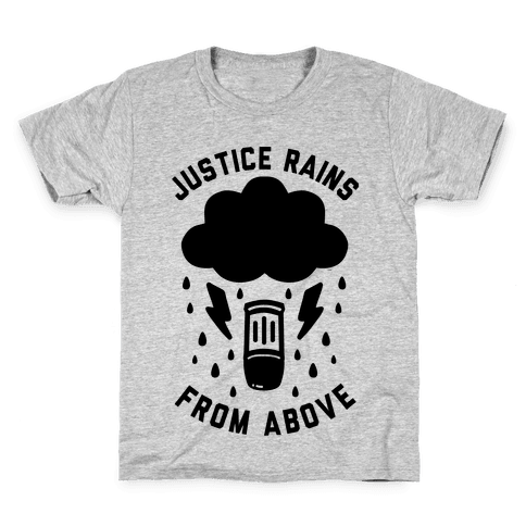 Justice Rains From Above Kids T-Shirt
