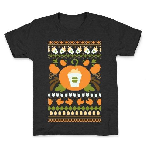 Ugly Pumpkin Spice Sweater Kids T-Shirt