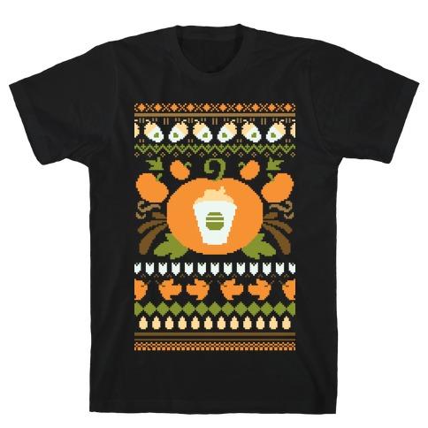 Ugly Pumpkin Spice Sweater T-Shirt