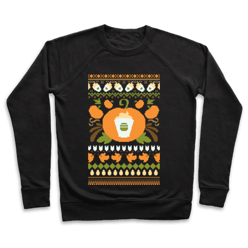 Ugly Pumpkin Spice Sweater Pullover