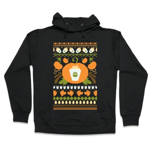 Ugly Pumpkin Spice Sweater Hooded Sweatshirt