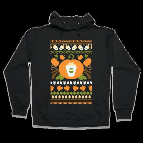 Ugly Pumpkin Spice Sweater Hooded Sweatshirt