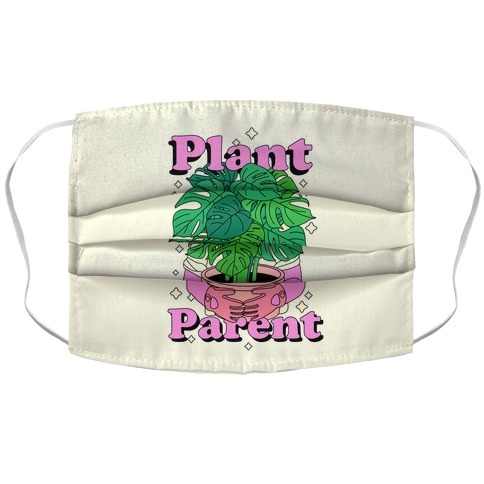 Plant Parent Accordion Face Mask