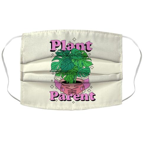Plant Parent Accordion Face Mask