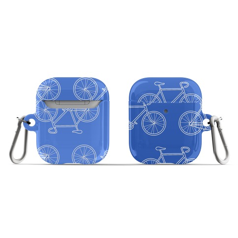 Bikes Blue Gradient AirPod Case