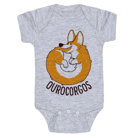 Ourocorgos Baby Onesy