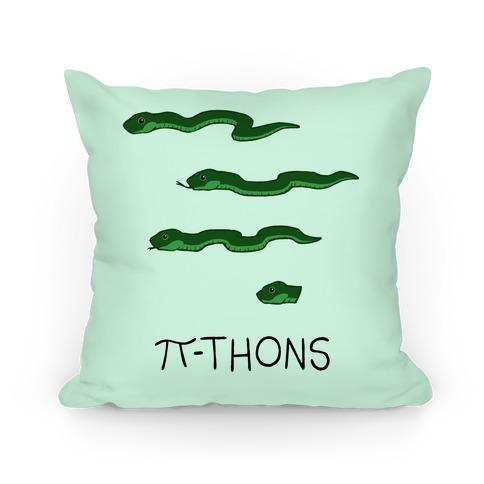 Pi-thons Pillow