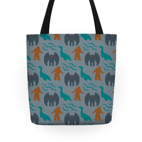 Cryptid Pattern Tote