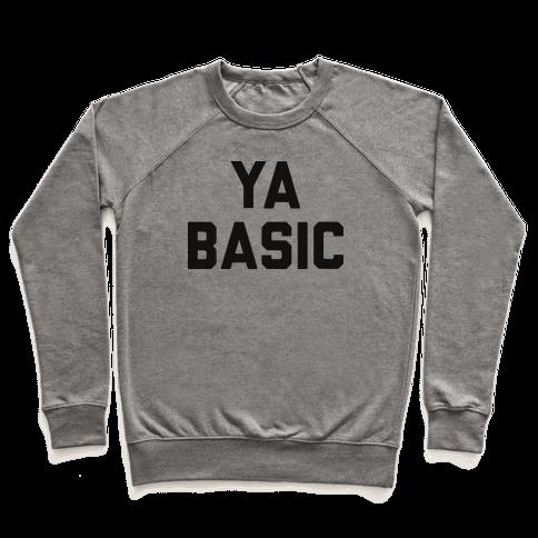 YA BASIC Pullover
