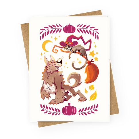 Wholesome Halloween Greeting Card