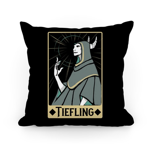 Tiefling - Dungeons and Dragons Pillow