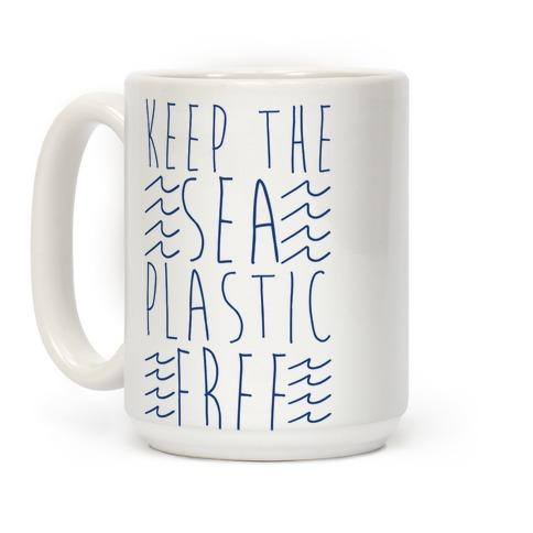Keep the Sea Plastic-Free Coffee Mug