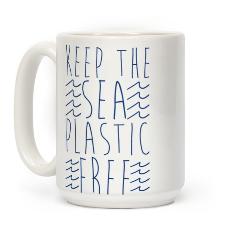 Keep the Sea Plastic-Free Coffee Mug
