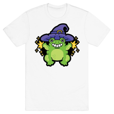 Magical Frog Witch T-Shirt