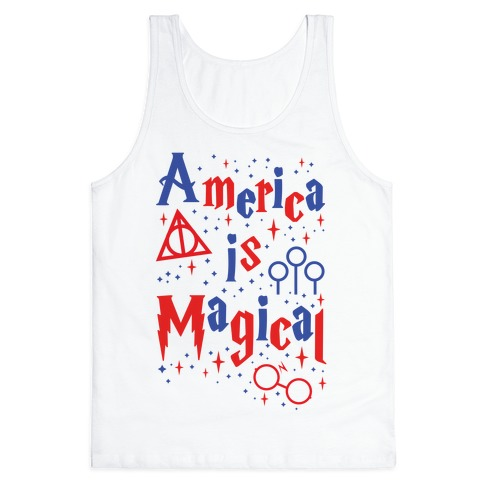 America Is Magical Tank Top