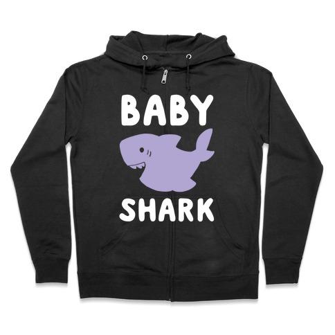 Baby Shark (1 of 5 set) Zip Hoodie