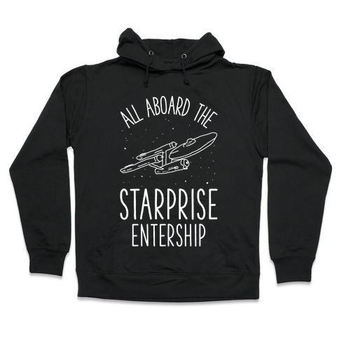 All Aboard The Starprise Entership Hooded Sweatshirt