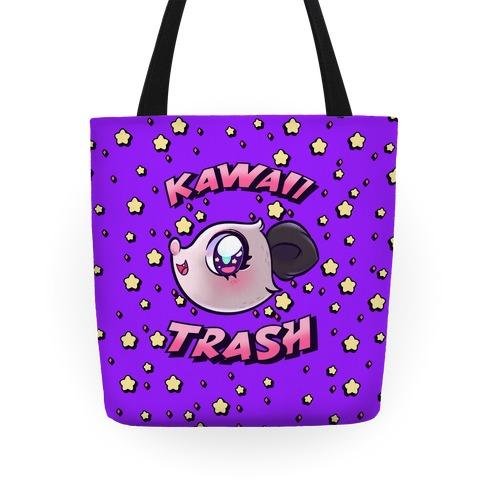 Kawaii Trash Tote