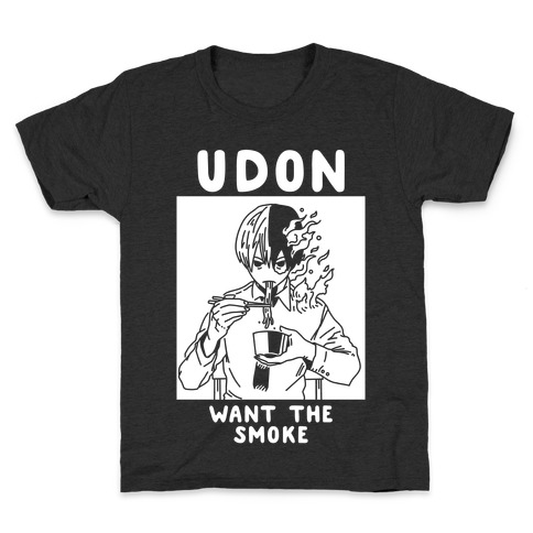 Udon Want the Smoke Kids T-Shirt