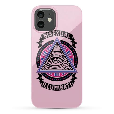 Bisexual Illuminati Phone Case