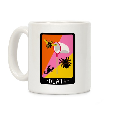 Creepy Creature Card Coffee Mug
