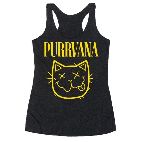 Purrvana Racerback Tank Top