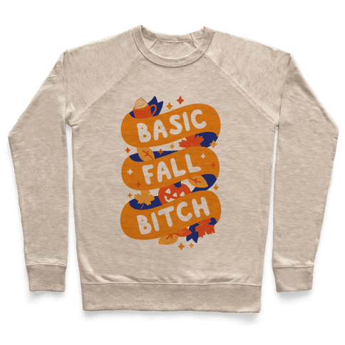 Basic Fall Bitch Pullover