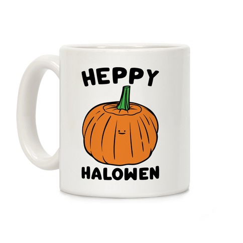 Heppy Halowen Parody Coffee Mug