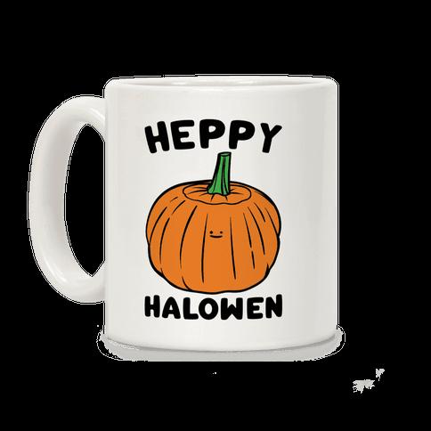 Heppy Halowen Parody Coffee Mug