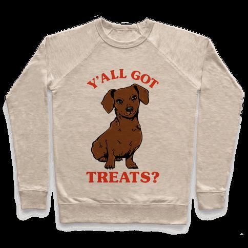 Y'all Got Treats Dachshund Pullover