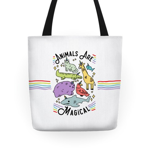 Animals Are Magical Tote