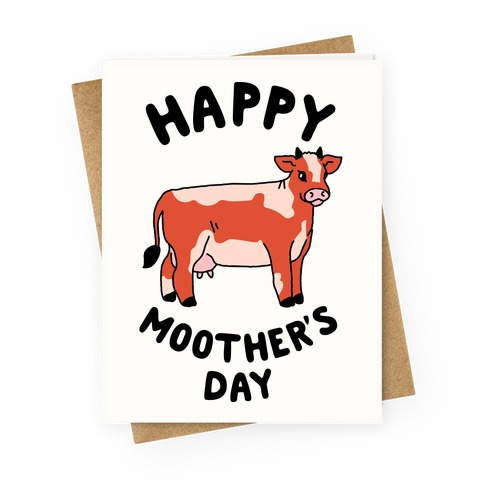 Happy Moother's Day Greeting Card